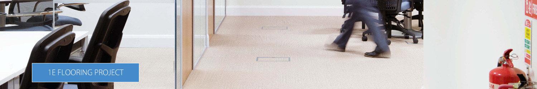 1E Office Flooring Solutions by HuntOffice Interiors