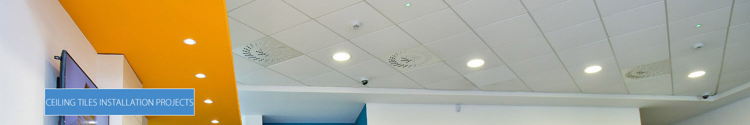 Ceiling Tiles Installation Projects