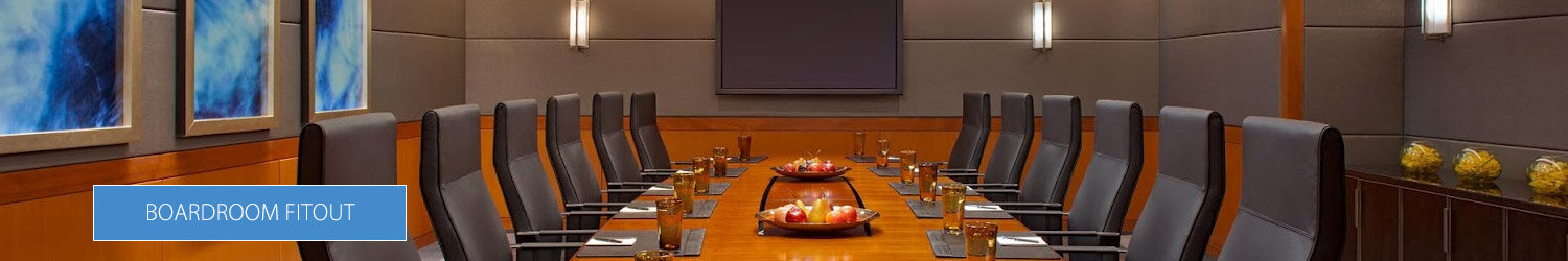 Boardroom Fitout Services