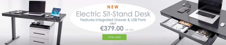 EPIC Rectangular Height Adjustable Sit-Stand Desks