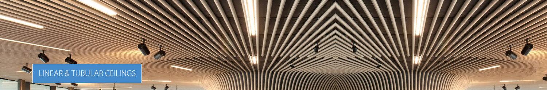 Linear & Tubular Ceilings