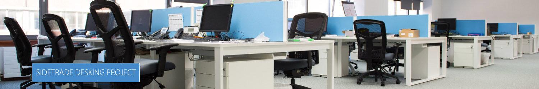 Sidetrade Office Desking Solutions By Huntoffice Interiors