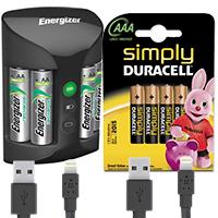 Batteries & Cables