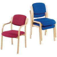 Wooden Frame Reception Chairs