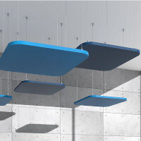 Fluffo AIR Suspended Ceiling Acoustic Panels