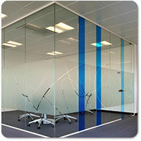 Frameless Glazed Partitions