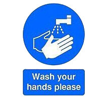 Hygiene Safety Signs