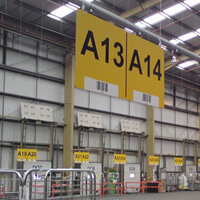 Warehouse Identification Signs