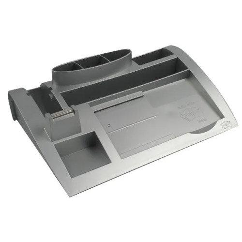 Post-it 3M Desk Organiser Silver 6 Compartment 7000062207