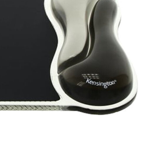 Kensington Duo Gel MousePad - Black and Smoke Ref 62399