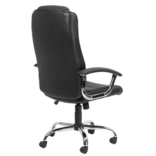 Alphason Houston Executive Chair Leather High Back Black - Weight Tolerance: 114kg Additional Image 4