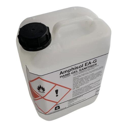 Amphisol - Fully Approved 70% Ethanol Based Hand Sanitiser Gel PCS 100421 5L Additional Image 1