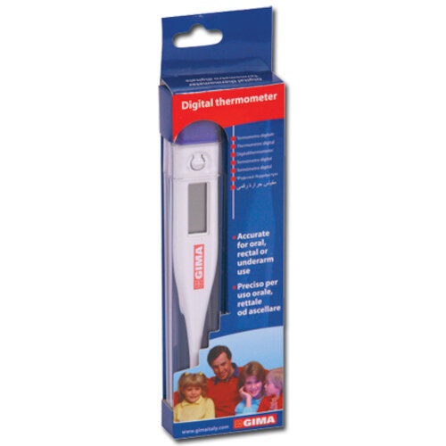 GIMA Digital Thermometer Single Pack Ref 25559S