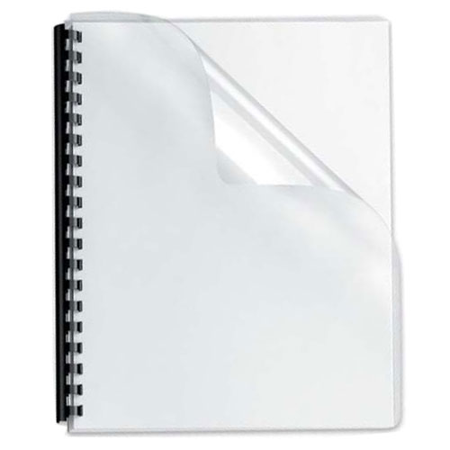 Q-Connect Binding Covers 250micron A4 Pk 100 KF24011