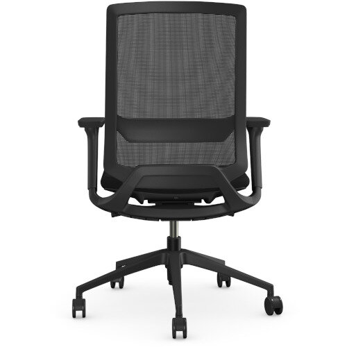 X.55 Posture Office Chair with Mesh Back & Adjustable Lumbar Support Black Additional Image 3
