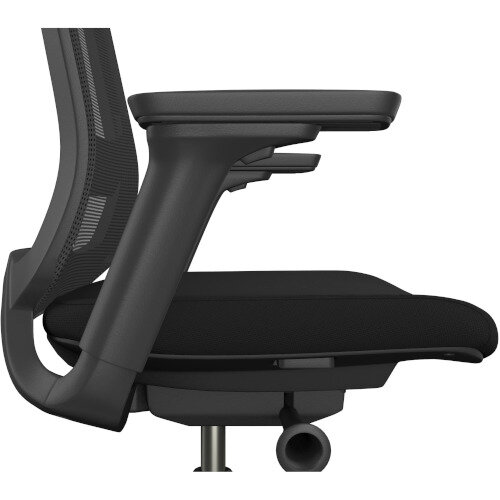 X.55 Posture Office Chair with Mesh Back & Adjustable Lumbar Support Black Additional Image 5