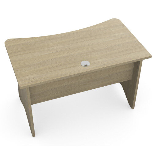 Medici Home Office Desk Urban Oak W1200xD700mm Additional Image 3