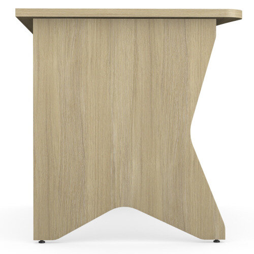 Medici Home Office Desk Urban Oak W1200xD700mm Additional Image 4