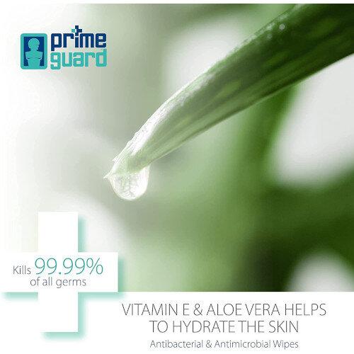 PrimeGuard Chlorhexidine Sanitised Wipes 25 Wipes Per Pack