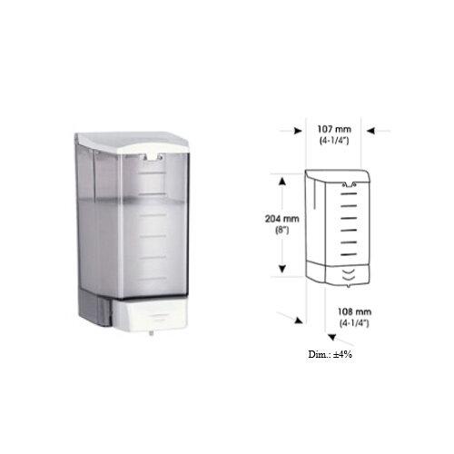 Liquid Soap Dispenser 1.1Ltr Clear