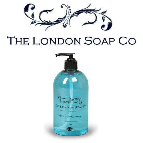The London Soap Co Anti-bacterial Original Liquid Hand Wash Soap 500ml (Pack of 1) Ref 0517