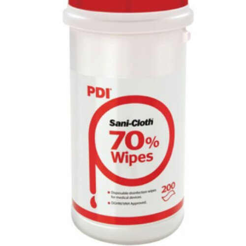 RED Sanicloth 70 Disinfection Wipes 70% Alcohol (200 wipes) Additional Image 1