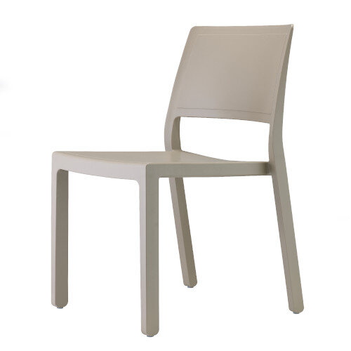 Kate Dining Set Anthracite Table & 4 Dove Grey Chairs - Suitable For Indoor & Outdoor Use Additional Image 3