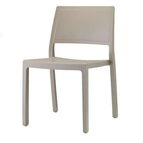 Kate Dining Set Anthracite Table & 4 Dove Grey Chairs - Suitable For Indoor & Outdoor Use Additional Image 4