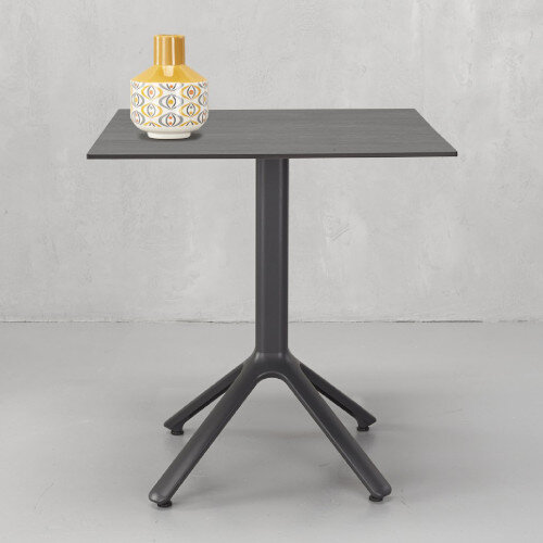 Kate Dining Set Anthracite Table & 4 Dove Grey Chairs - Suitable For Indoor & Outdoor Use Additional Image 7