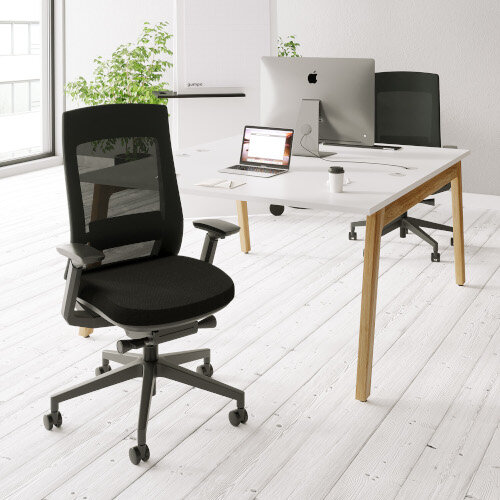 X.22 Posture Office Chair with Unique Mesh Back And Adjustable Lumbar Support