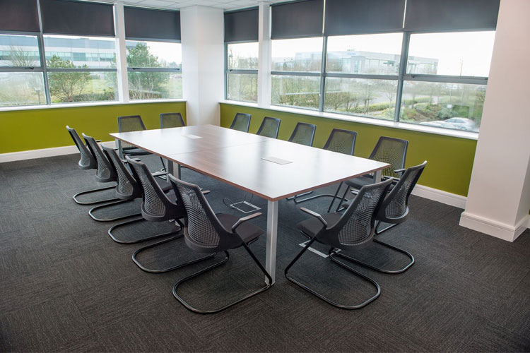 Cork strip for conference rooms