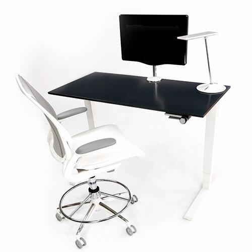 Humanscale Float Height Adjustable Sit Stand Desk Black