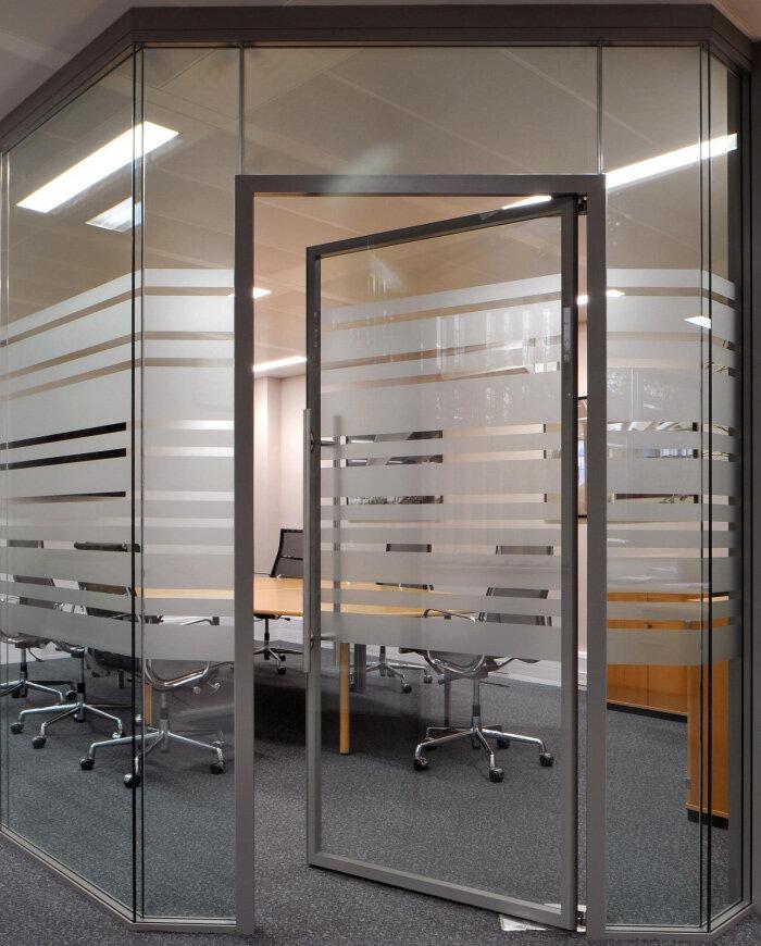Sas System 8000i Double Glazed Frameless Partitioning System