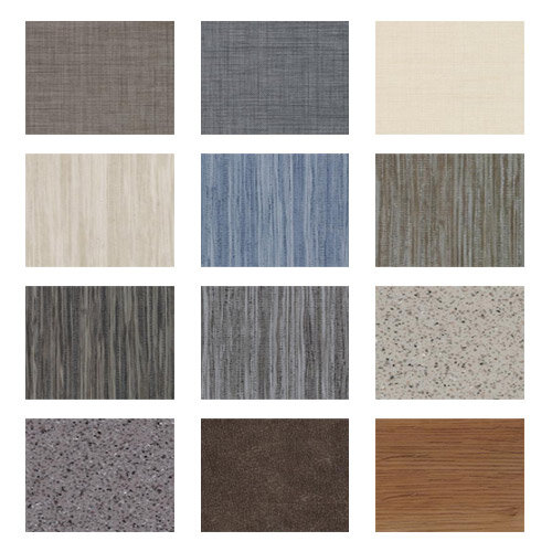 Square Acoustic Loose Lay Vinyl Tiles Huntoffice