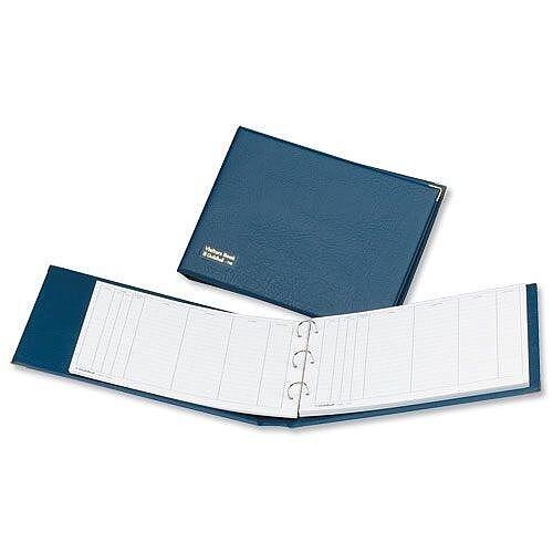 Guildhall Visitors Book Loose-leaf 3-Ring Binder PVC 50 Sheets 236x349mm T40