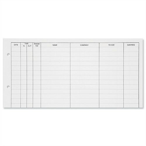Guildhall Refill for Loose-leaf Visitors Book 50 Sheets A4 T40/R