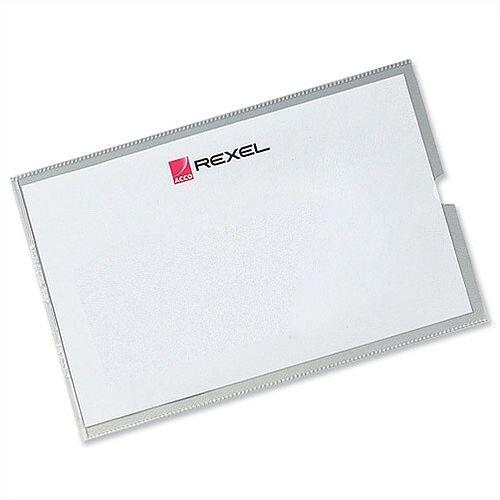 Rexel Card Holder 95x64mm Pack 25