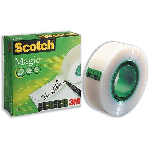 Scotch Magic Tape 25mm x 66m Matt Roll 1
