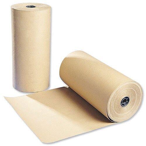 Brown Kraft Paper Packaging Roll 300m Recycled Ambassador