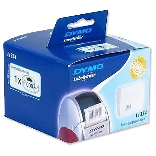 Dymo 11354 Labels Multipurpose 57 x 32mm Pack 1000