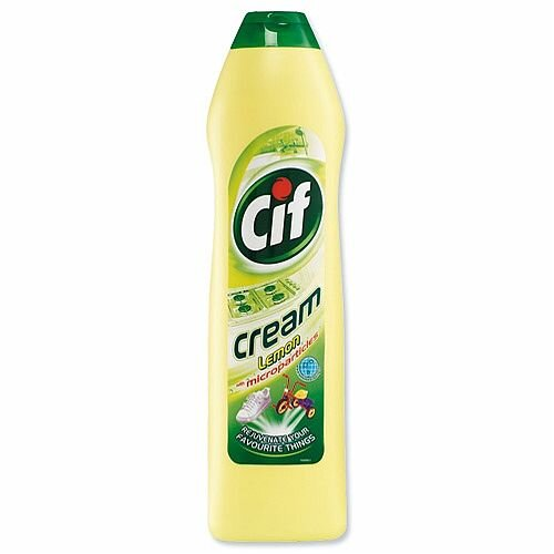 Cif Professional Cream Cleaner Lemon 500ml. Simply Cleans Encrusted Grease Or Grimy Mud. Ideal For Stubborn Cleaning Jobs At Work Places, Homes, Schools, Colleges &More.