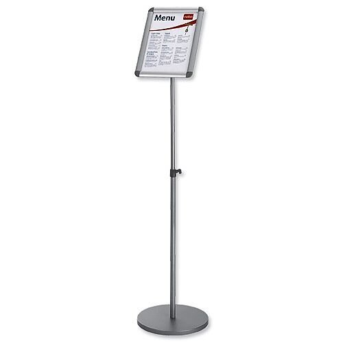 Nobo Clip Frame A4 Information Display Stand Silver 1902383 ...