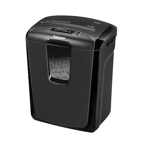 Fellowes M-8C Shredder Cross-Cutter With 15 Litre Bin &Shreds At A Brilliant 4.3 Meters Per Minute. Ideal For Home Offices Or Small Businesses.