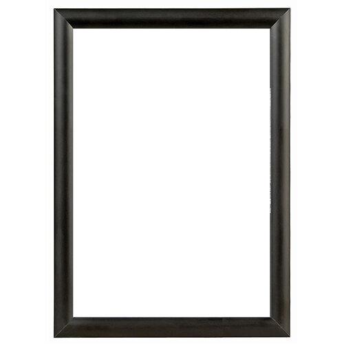 A1 Black Aluminium Snap Frame