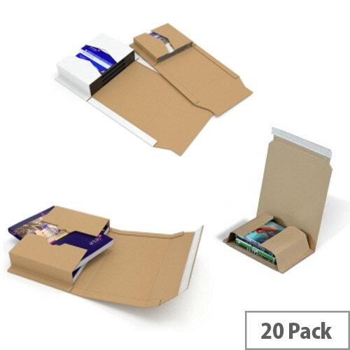 Colompac Postal Wrap A4 302x215x80mm