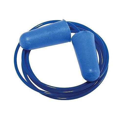 Keepsafe Corded Foam Ear Plugs Blue [Pack 200]