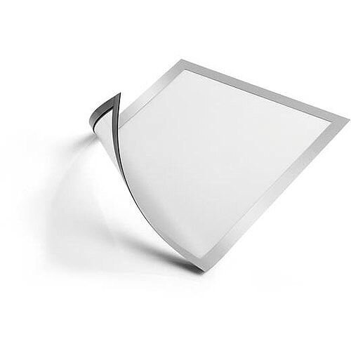 Durable DURAFRAME  A4  Magnetic Frame  Silver  Pack of 5