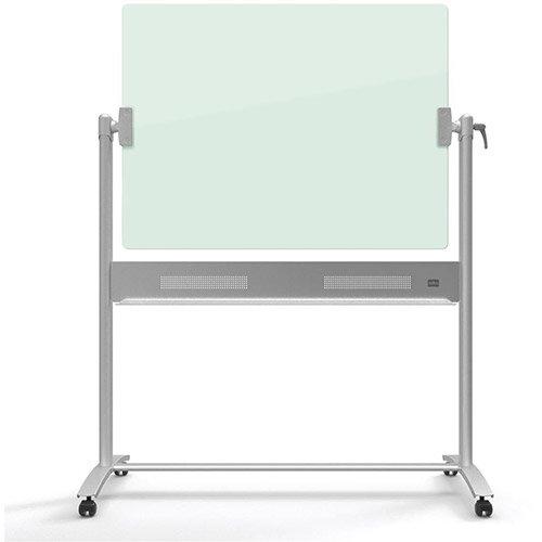Nobo Diamond  900x1200mm  Magnetic Glass Mobile Whiteboard Ref 1903943