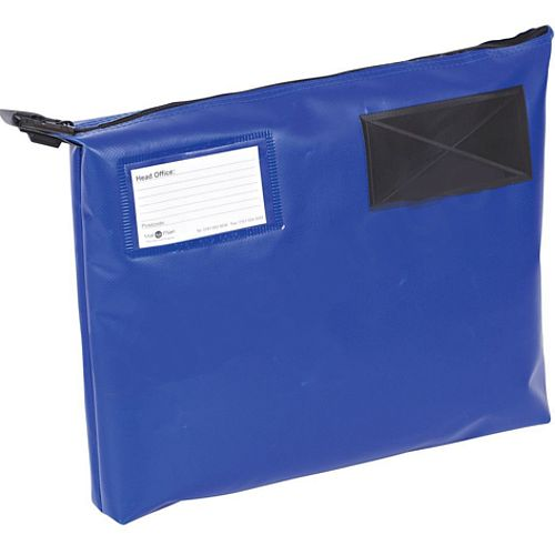 Blue A4+ Flat Mailing Pouch 355mm x 386mm