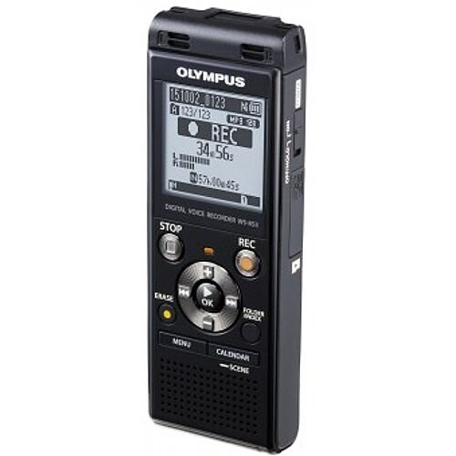 Olympus WS853 8GB Voice Recorder Stereo with Noise Cancelling Ability. Built in Memory of 8GB For Over 2,000 Hours Of Recording Time. Rechargeable Battery.